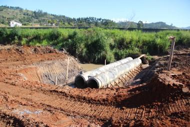 Nova drenagem vai auxiliar escoamento pluvial da BR-101 Sul catarinense