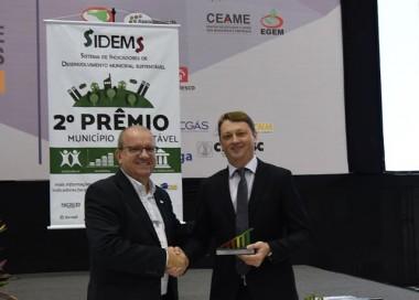 Jaraguá do Sul conquista 2º Prêmio Município Sustentável