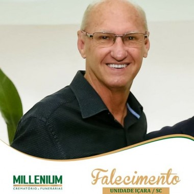 Falecimento de Luis Paulo Meurer proprietário do Posto Planalto em Içara