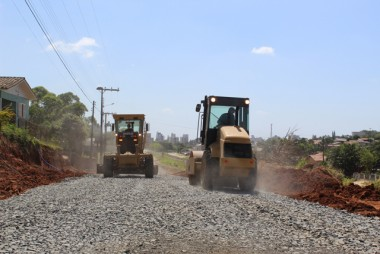 Trecho da Avenida Procópio Lima tem 45% das obras concluídas