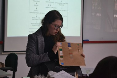 Alunos do Curso de Geografia aprendem a confeccionar mapas táteis
