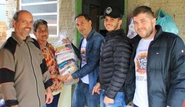 Alimentos doados chegam às famílias carentes em Içara