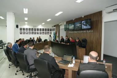 Comissões da Cãmara de Içara serão formadas em março