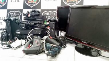 Operação prende dupla especializada em furtos de edifícios