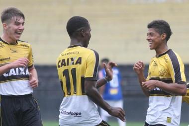 Sub-20 do Criciúma goleia o Cruzeiro no duelo de ida