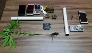 Polícia Civil prende trio por tráfico em Balneário Rincão