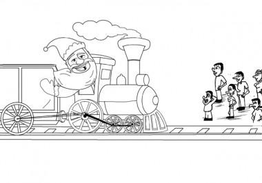 Papai Noel Ferroviário