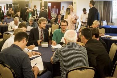 Encontro de prefeitos e prefeitas petistas em Brasília