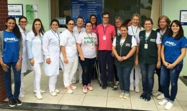 Unidades de Saúde recebem visita de avaliadores