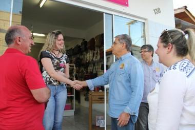 Campanha no Sul conta com engajamento do vice-governador