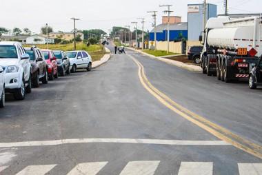 Entrega da pavimentação do trecho final da Rua José Demo