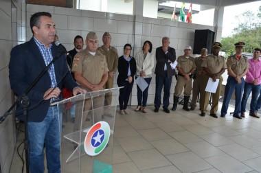 Polícia Militar Rodoviária inaugura reforma em Cocal do Sul