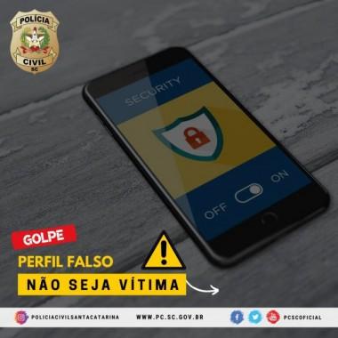 Polícia Civil alerta para golpes praticados com perfis falsos na internet