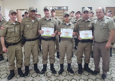 Policiais Militares concluem o estágio de Radio patrulhamento