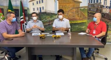 'Não haverá lockdown', diz prefeito de Criciúma Clésio Salvaro