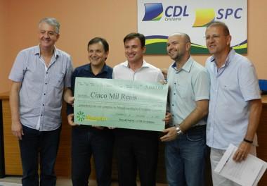Entrega do premio foi realizada na CDL de Criciúma