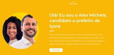 Michels reafirma compromisso de não usar fundo eleitoral e abre Vaquinha Virtual