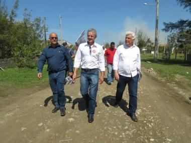 Dresch reforça campanha dos candidatos Décio e Naelti