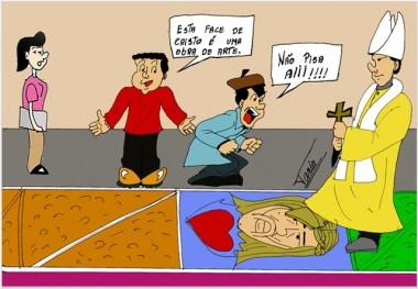 Momento de fé dos católicos