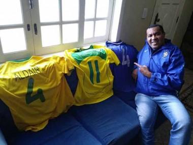 Ex-cunhado de Aldair está confiante no Brasil