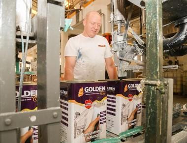 Goldencor reforça o seguimento de tinta imobiliária no município