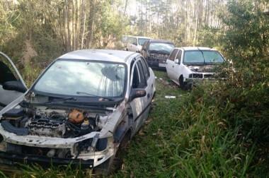 Polícia Militar recupera cinco veículos em Criciúma