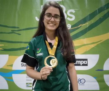 Kathiê Goulart Librelato é Bicampeã Brasileira Universitária