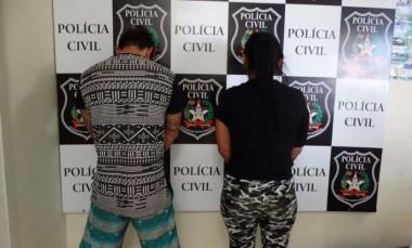 Casal suspeito de furtos é detido em Balneário Rincão