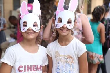 Páscoa Encantada divertem crianças na Praça da Matriz São Donato