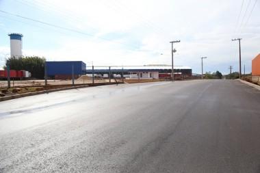 Içara: Pavimentação do sentido norte da ICR-253 chega a 95%