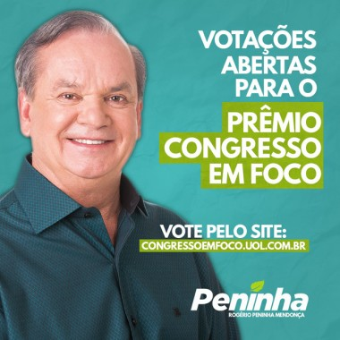 Peninha é indicado ao Prêmio Congresso em Foco