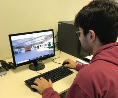 Acadêmico elabora projeto de Tour virtual da Satc