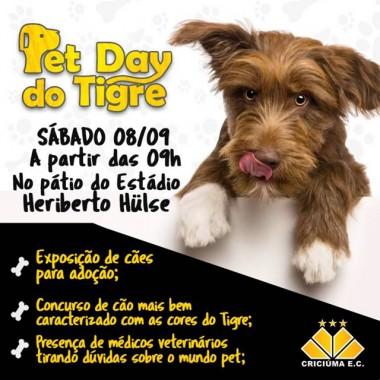 Pet Day e Berçário do tigre