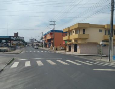 Governo Municipal notifica empresa para refazer as faixas em MF