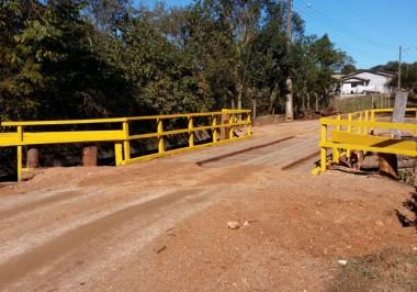 Ponte que liga Içara a Morro da Fumaça é entregue à população