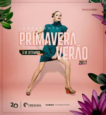 Criciúma Shopping prepara lançamento Primavera/Verão 2018