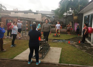 Terceira Idade de Jacinto Machado participa de projeto