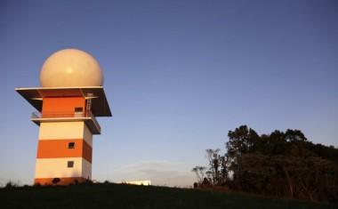 Radar Meteorológico do Oeste será inaugurado na sexta-feira