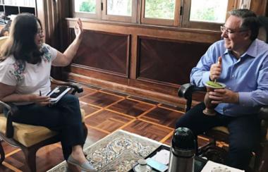 Entrevista com o governador Raimundo Colombo