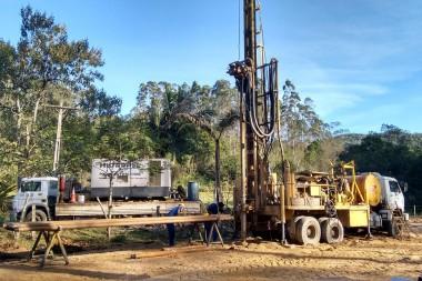 Samae perfura novo poço artesiano na localidade do Rio Maior
