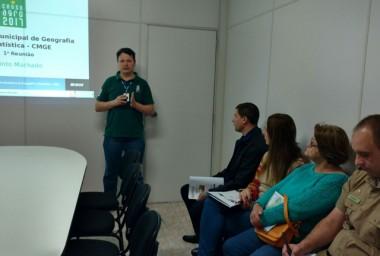 Jacinto Machado recebe informações sobre Censo Agropecuário