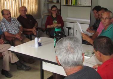 Secretaria de Agricultura de Jacinto Machado realiza reunião