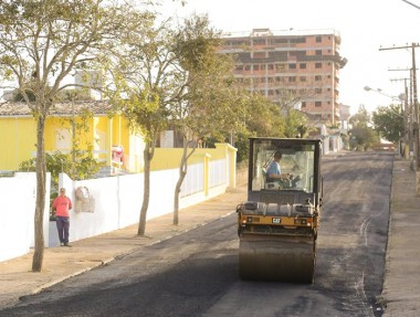 Governo proporciona mobilidade com revitalização em vias públicas