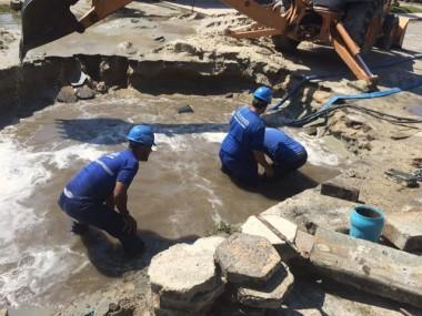 Abastecimento de água é normalizado no Balneário Rincão