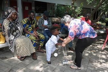Escola de Migrantes Unesc promove dia da criança