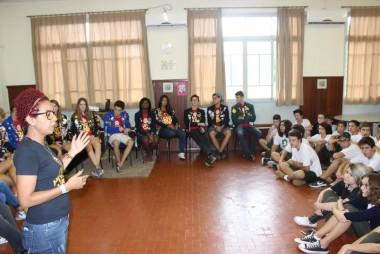 Intercambistas do Rotary Clube visitam a Satc de Orleans