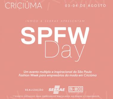 SPFWDay também terá consultoria de moda para empresas do Sul