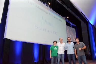Meetup Startup SC inspira, capacita e promove networking