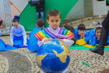 Apresentações temáticas marcam início da Semana da Pátria em Içara