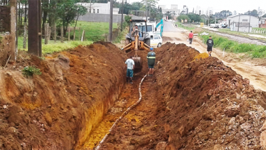Içara: Rodovias com obras mantém prazos estabelecidos